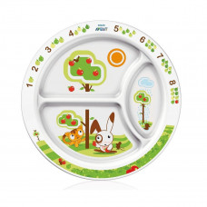 Philips AVENT Toddler Divider Plate 12M+Natural (SCF702/00)