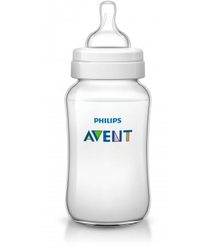 Philips AVENT 330ml Feeding Bottle PK1 (Classic Plus Range) (SCF566/17)