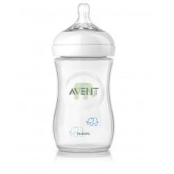 Philips AVENT Natural Deco Bottle 260 ML PK1 (Green) – (SCF627/17)