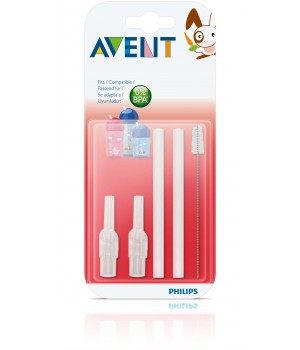 Philips AVENT Straw Replacement Set 12M+ (SCF764/00)