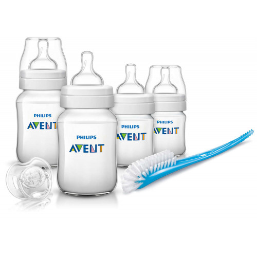 Philips AVENT New Born Starter Set (Classic Plus PP) (SCD371/00)