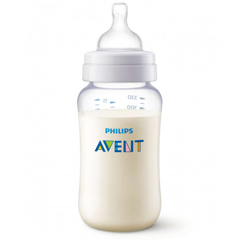 Philips AVENT 330ml Feeding Bottle PK1 (Classic Plus Range 3m+) (SCF456/17)