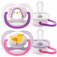 Philips Avent ultra air 0-6m pacifier (SCF080/06)