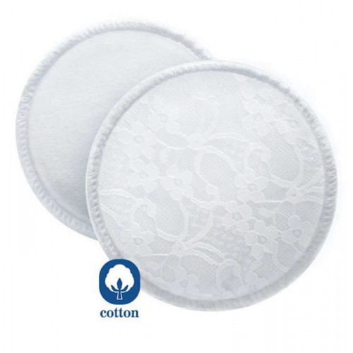 Philips AVENT Washable Breast Pads PK6 (SCF155/06)