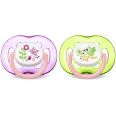 Philips AVENT 18M+ Soother Girl PK2 (SCF186/25)