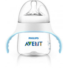 Philips AVENT Natural PP Bottle With Handle 150ml - SCF251/00