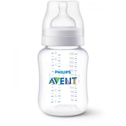 Philips AVENT classic plus feeding bottle 260ML PK1 (SCF454/17)