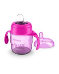 Philips AVENT Classic Spout Cup 7OZ Pink (SCF551/03)
