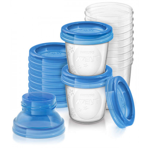 Philips Avent Breast Milk Storage Cups (SCF618/10)