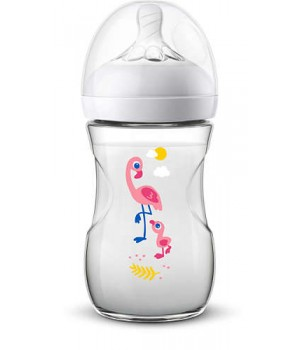 Philips AVENT Natural II 260ml bottle Flamingo PK1 (SCF627/41)