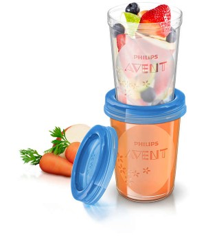 Philips Avent Food Storage Cups  (SCF639/05)