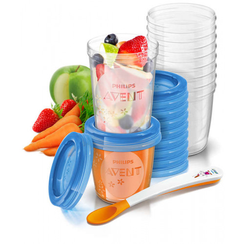 Philips Avent Food Storage Set -Toddler 10x (SCF721/20)