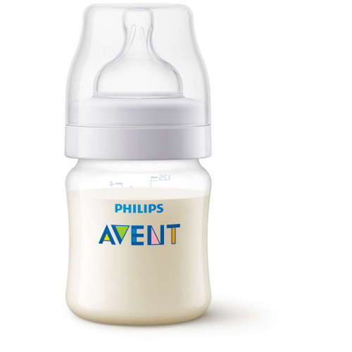 Anti-Colic Bottle PP 125ml Pk1 - SCF810/17