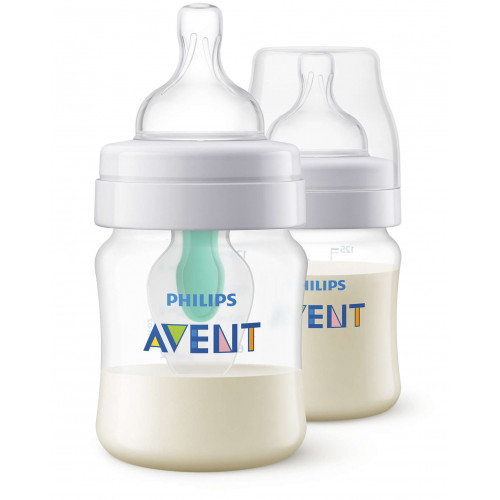 Anti-Colic Bottle PP 4OZ 2PK (Kepler) - SCF810/24