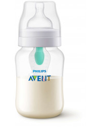 Anti-Colic Bottle PP 9OZ 1PK (Kepler) - SCF813/14