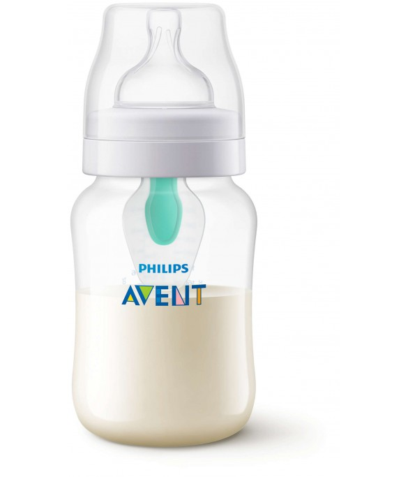 Anti-Colic Bottle PP 9OZ 1PK (Kepler) - SCF813/14