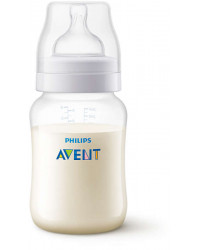 Anti-Colic Bottle PP 260ml Pk1 - SCF813/17