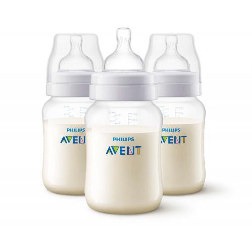 Anti-Colic Bottle PP 260ml Pk3 - SCF813/37