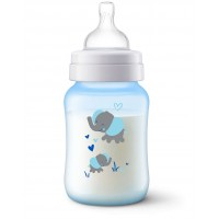 Philips AVENT Anti-colic deco bottle 260ml PK1 Elephant (SCF821/15)