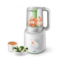 Philips AVENT Baby Food Steamer & Blender 220 watt (SCF870/20)