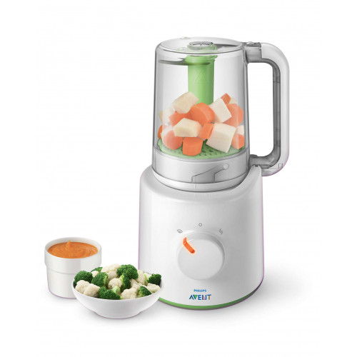 Philips AVENT Baby Food Steamer & Blender 220 watt (SCF870/20)