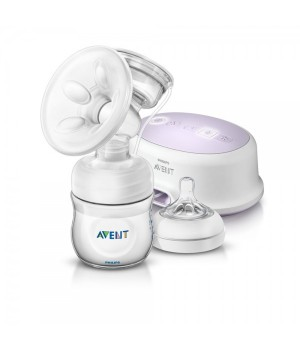 Philips AVENT Natural Single Elec. Breast Pump - SCF332/01