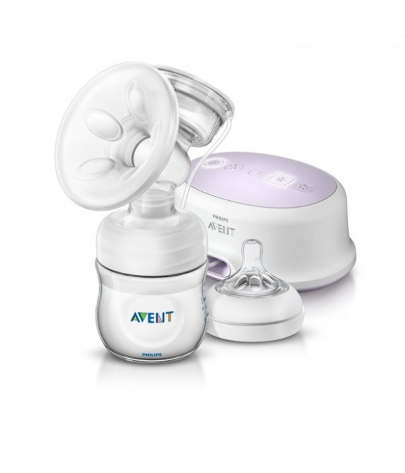 Philips AVENT Natural Single Elec.Breast Pump - SCF332/01
