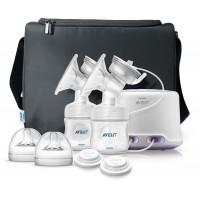 Philips AVENT Natural Double Elec. Breast Pump Ultra Comfort - SCF334/31