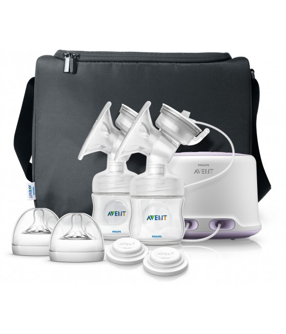 Philips AVENT Natural Double Elec. Breast Pump - SCF334/02