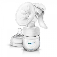 Philips AVENT Comfort Manual Breast Pump (Natural Range) (SCF330/20)