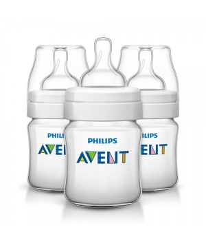Philips AVENT Classic Plus PP Bottle 125ml PK3 (SCF560/37)