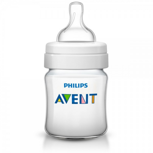 Philips AVENT 125ml Feeding Bottle PK1 (Classic Plus Range) (SCF560/17)
