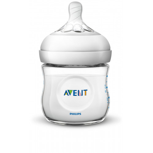 Philips AVENT Natural II PP 125ml Feeding Bottle PK1 (SCF690/13)