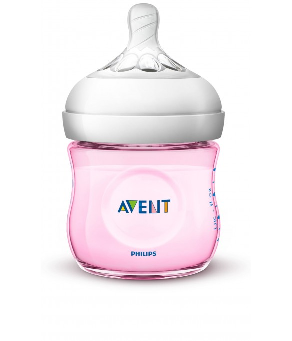 Philips AVENT Natural II PP 125ml Bottle PK1 (Pink) (SCF691/13)