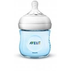 Philips AVENT Natural II PP 125ml Bottle PK1 (Blue) - (SCF692/13)