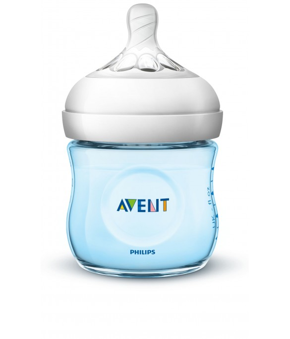 Philips AVENT Natural II PP 125ml Bottle PK1 (Blue) - (SCF692/13)