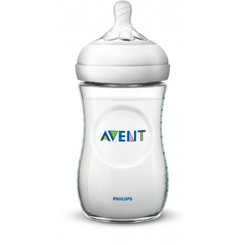 Philips AVENT Natural II PP 260ml Feeding Bottle PK1 - (SCF693/13)