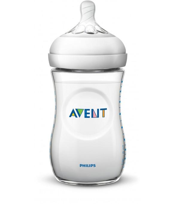 Philips AVENT Natural II PP 260ml Feeding Bottle PK1 - (SCF693/13)