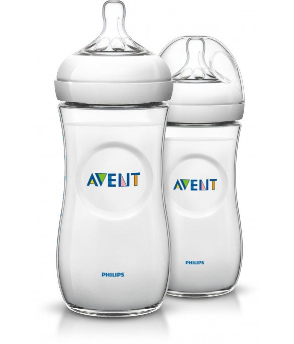 Philips Avent Natural Bottle 330ml PK2 (SCF696/23)