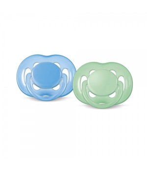 Philips AVENT Pacifier 6-18 Free Flow PK2 (SCF178/24)