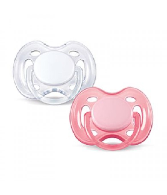 Philips AVENT Pacifiers 0-6m Freeflow Orthodontic PK2 (SCF178/23)