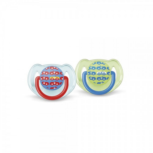 Philips AVENT Pacifiers 6-18m Fashion PK2 (SCF172/22)