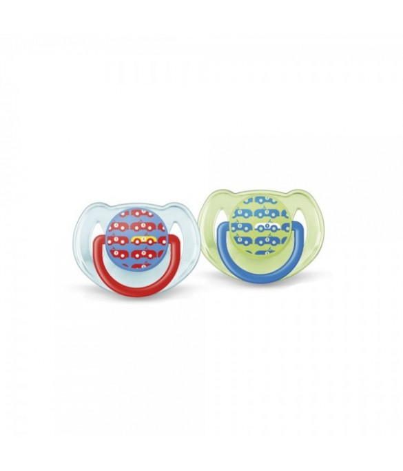Philips AVENT Pacifiers 6-18m Fashion 2pk (SCF172/22)